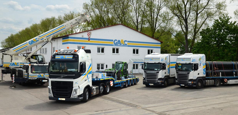 Transport- und Krandienstleistung