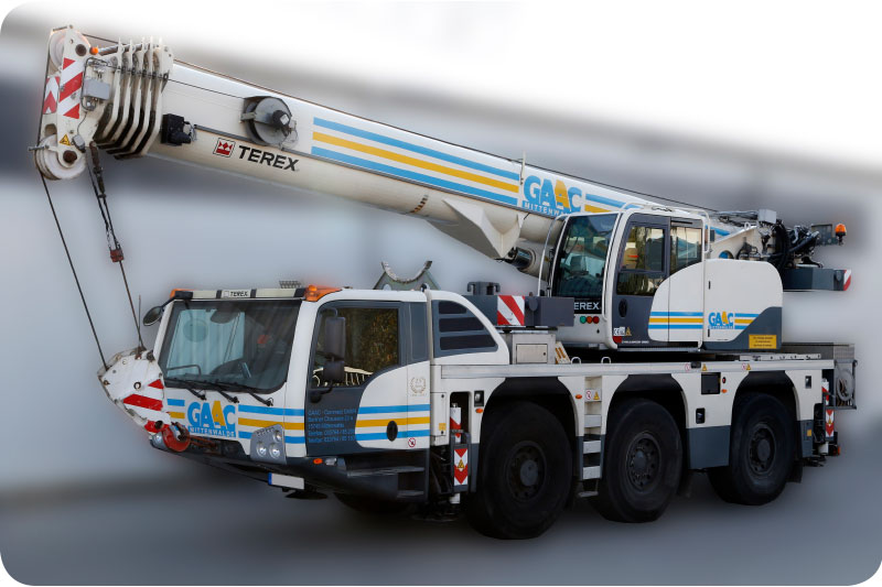 Autokran-TEREX-Callenger-3160