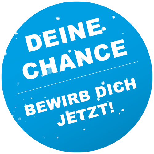 Button bewirb dich