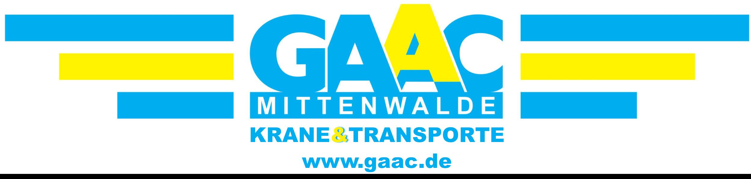 Kran und Transporte Logo GAAC