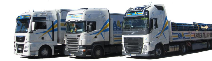 LKW-Sattelzüge GAAC