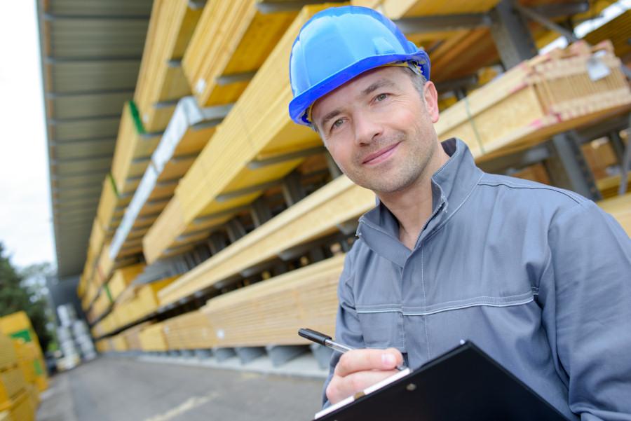 Lagerleiter Baustoffhandel Stellenanzeige