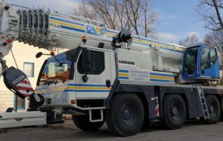 GAAC Autokran LIEBHERR LTM 1090-4.2
